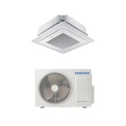 Samsung Mennyezeti 4 utas kazettás Wind-Free (AC052RN4DKG/EU+AC052RXADKG/EU)+választható dekorpanellel+vezetékes fali szabályzó