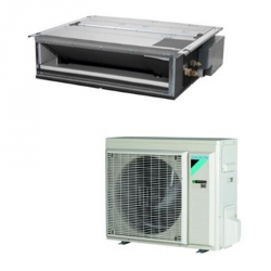 Daikin Légcsatornázható (FDXM25F9/RXM25R) Inverteres Split klíma távirányító nélkül